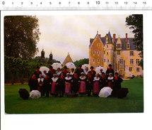 Le Bonnet Bésséen - Château De Courtanvaux - Bessé-sur-Braye Folklore Costumes Sarthois Sarthe  CP68/36 - France