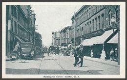 Barrington Street, Halifax, Nova Scotia, C.1920s - Novelty Manufacturing & Art Co Postcard - Halifax
