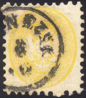 1865 - 2 Soldi Giallo, Dent. 9 1/2 (41), Perfetto, Usato A Venezia. Non Comune! ... - Lombardy-Venetia