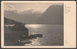 Ob Sončnem Zatonu Na Bohinjskem Jezeru, 1931 - Ravnik Foto Dopisnica - Slovenia
