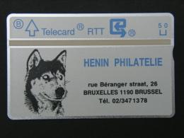 P 84. Henin. 1000 Ex. - Belgium