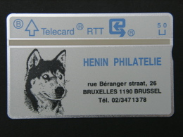 P 84. Henin. 1000 Ex. - Belgio