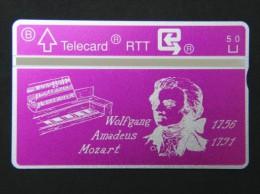 P 227. Mozart. 1000 Ex. - Belgium