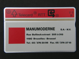 P 149. Manumoderne. 1000 Ex. - Belgium
