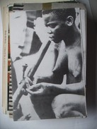 Afica Half Naked Woman Smoking  ... Stichting Stuff Vrij - Postkaarten