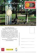 4151za1: AK 2404 Petronell- Carnuntum Werbekarte Tourismus, Römer, Ungelaufen - Werbepostkarten