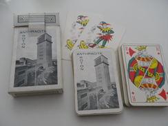 Jeu De 52 Cartes à Jouer - ROTON CHARBON ANTHRACITE - 54 Cartes
