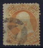 USA Sc Nr 71  Mi Nr 24  Used   1861 - 1847-99 Emissions Générales