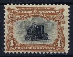 USA Sc Nr 296  Mi Nr 134  Not Used (*) SG  1901 - Vereinigte Staaten