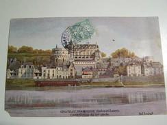 T32   AMBOISE Le Chateau ( COLLECTION POULAIN) - Autres Communes