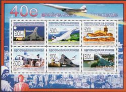 Guinea MNH Concorde Sheetlet And SS - Concorde