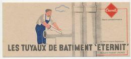 """Buvard - TUYAUX Du Batiment """" ETERNIT"""" - Electricité & Gaz"""