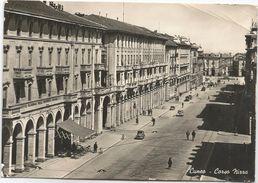 Y4039 Cuneo - Corso Nizza - Auto Cars Voitures / Viaggiata 1954 - Cuneo