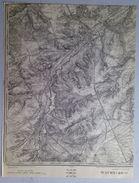 CARTE D ETAT MAJOR 40/1 De 1904 WAVRE OTTIGNIES BIERGES LIMAL LOUVAIN-LA-NEUVE MOUSTY LIMELETTE ROFESSART MOUSTY S676 - Waver