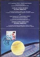 SERBIA 2008 - SERBIAN OLYMPIC TENNIS TEAM - JELENA JANKOVIC - Tennis