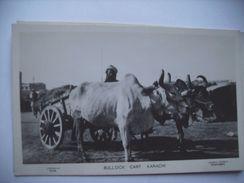 Pakistan Karachi Bullock Cart Old - Pakistan