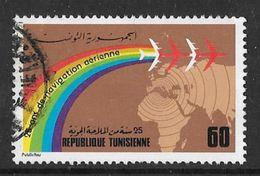 YT 781 (o) - 25 Ans De Navigation Aérienne - Tunisie (1956-...)