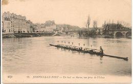 L103A629 - Joinville Le Pont  - Un Huit En Marne Vue Prise De L'Ecluse - Editeur ELD N°12 - Belle Animation De Rameurs - Joinville Le Pont