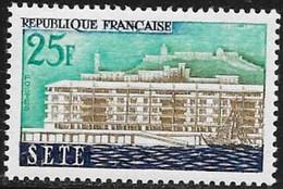 N° 1155   FRANCE  - NEUF  -  SETE  -  1958 - Francia