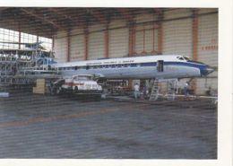 CPA PLANES, TUPOLEV TU-134A - 1946-....: Moderne