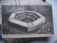 Algerije Alger Algérie Timgad Ruines Romaines Baptistère Byzantin - Algerije