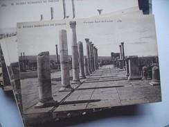 Algerije Alger Algérie Timgad Ruines Romaines Portique Nord Du Du Forum - Algerije