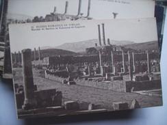 Algerije Alger Algérie Timgad Ruines Romaines Marché De Sertius - Algerije
