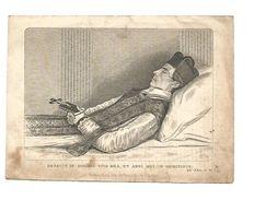 P 255. E.H. MATHIAS THEUNIS - REGENT Seminarie SINT-TRUIDEN - °COURSEL 1815 / + SINT-TRUIDEN 1853 - Devotion Images