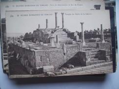 Algerije Alger Algérie Timgad Ruines Romaines Temple Du Génie De La Colonie - Algerije