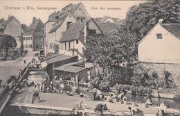 COLMAR (68) Rue Des Tanneurs Avec Laveuse / Lavandière - Colmar