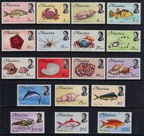 L0030 MAURITIUS 1969, SG 382-99  Definitives  MNH - Mauritius (1968-...)