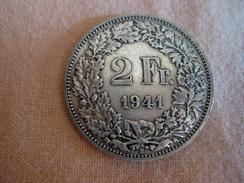 Suisse: 2 Francs 1941 - Suiza