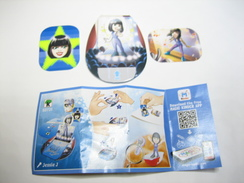 KINDER SD731 TEEN IDOLS Stickers Et Cards Jessie J+ BPZ - Steckfiguren