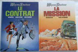 Wayne Shelton 1 Et 3 Par DENAYER & VAN HAMME - Wayne Shelton