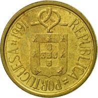 Portugal, 5 Escudos, 1991, SUP+, Nickel-brass, KM:632 - Portugal