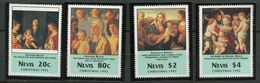 Nevis ** N° 671 à 674 - Noel 1992 - Central America