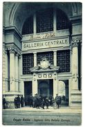 CPA Italie Emilia-Romagna Reggio Emilia Ingresso Della Galleria Centrale - Reggio Nell'Emilia
