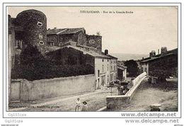 54 Dieulouard - Rue De La Grande Roche (attelage, Animée) - Dieulouard