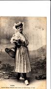 SABLAISE  Belle Cpa Animée Circulée En 1909 Bon état Voir Scans - Costumes