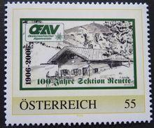 PM - ÖSTERREICHISCHER ALPENVEREIN - OEAV - 100 JAHRE SEKTION REUTTE ** / MNH - Österreich