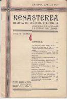 5408FM- REBIRTH-RENASTEREA, RELIGIOUS MAGAZINE, KING MICHAEL STAMP, 22 PAGES, 1929, ROMANIA - Zeitungen & Zeitschriften