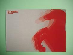 CARTE - POSTCARD  -  MY WINNIPEG  -  WINNIPEG MON AMOUR  -  Drame    -  FILM PUBLICITE - Manifesti Su Carta