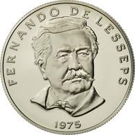 Panama, 50 Centesimos, 1975, U.S. Mint, SPL+, Copper-Nickel Clad Copper, KM:38.1 - Panama