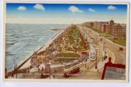 ROUGH SEA NORTH SHORE PROMENADEBLACKPOOL - England