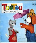 JOURNAL DE TOUTOU RTF ORTF 1967 N° 6 - Livres, BD, Revues