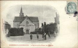 49 - MONTREUIL-SUR-MAINE - église - Jouet - Cheval En Bois - France