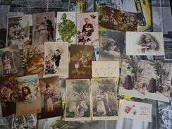 Lot De 200 Cartes Postales Fantaisies - 100 - 499 Postcards