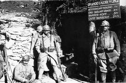 Militaria WW1 - Boyau Du Linge En Alsace - 1914-18