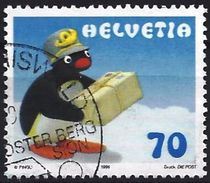 Switzerland 1999 - Pingu Comics Caracter ( Mi 1673 - YT 1601 ) - Zwitserland
