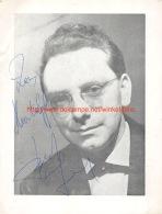 Bert Joris - Oud Belgie - Autographes